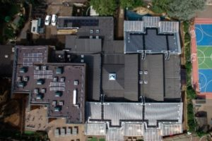 school-flat-roof-mansard-pitched